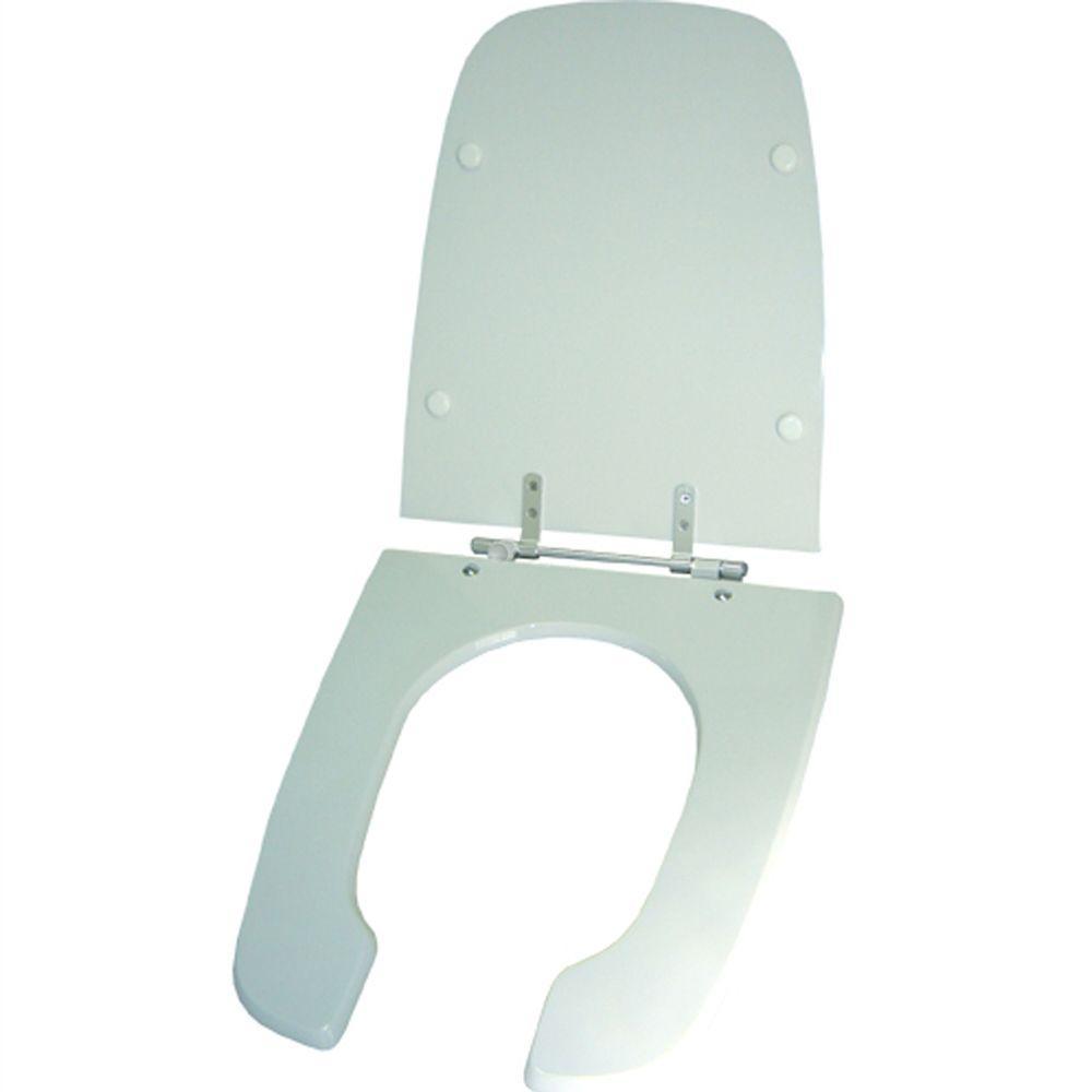 Assento Sanitario Poliester Handicapped Branco para vaso Celite (PNE)