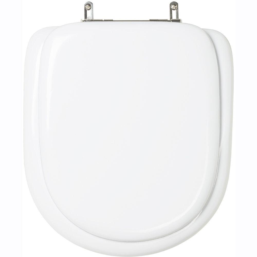 Assento Sanitario Almofadado Life Branco para Vaso Celite
