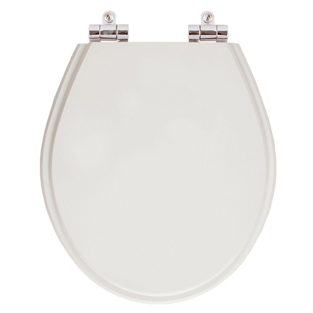 Assento Sanitario Poliester com Amortecedor Carina Silver (Cinza Claro) para Vaso Ideal Standard