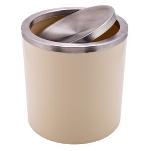 Lixeira Basculante Bege Claro 6,2l