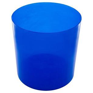 Lixiera Colors 6,2 litros - Azul Translucido