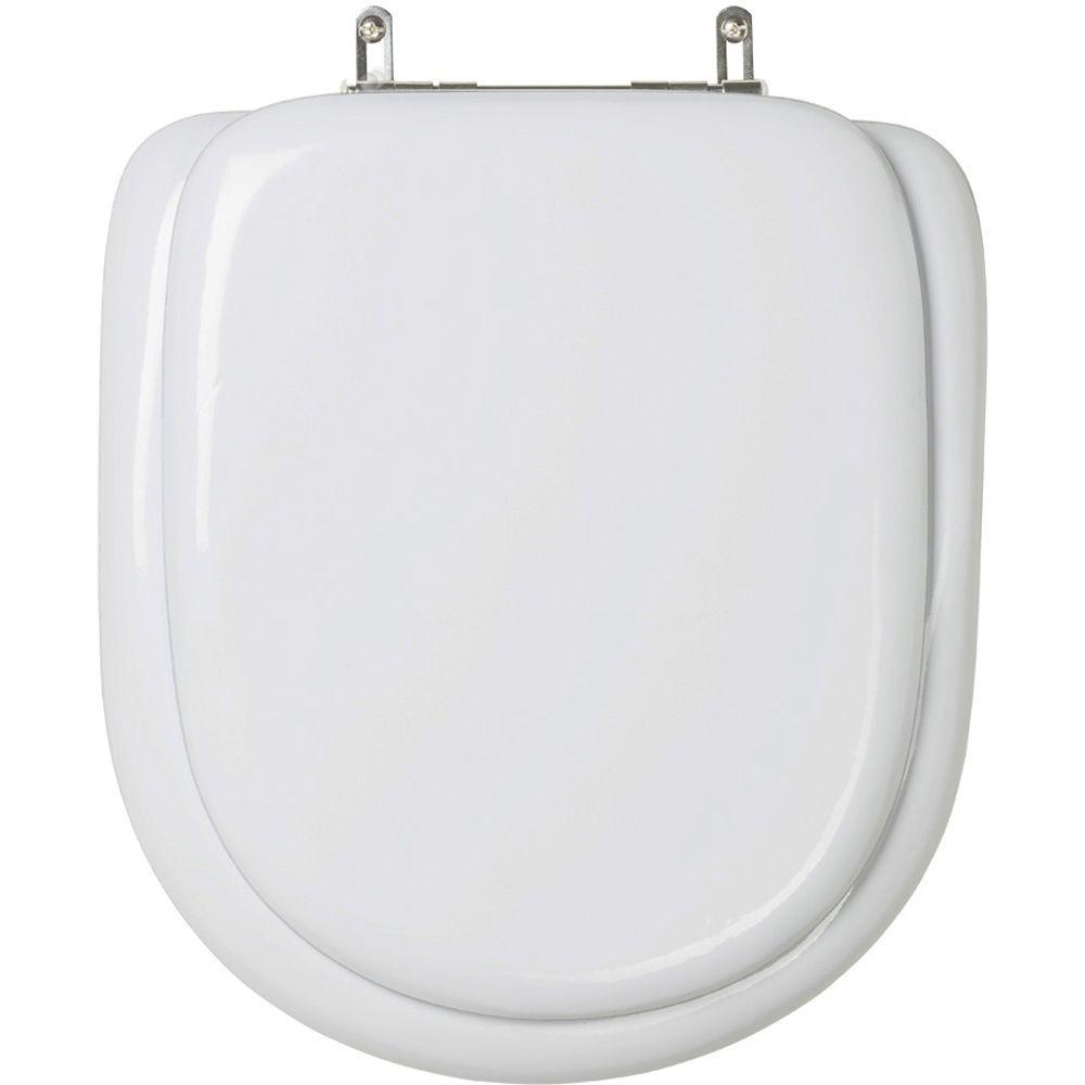 Assento Sanitario Almofadado Carrara Cinza Real para Vaso Deca