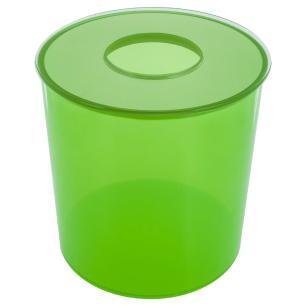 Lixiera Colors 6,2 litros - Verde Limao Translucido