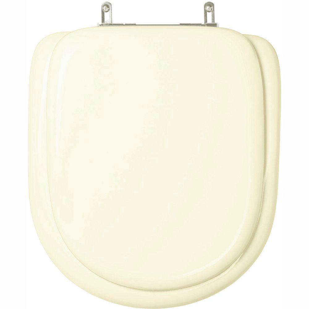 Assento Sanitario Almofadado Flox Marfim para bacia Fiori