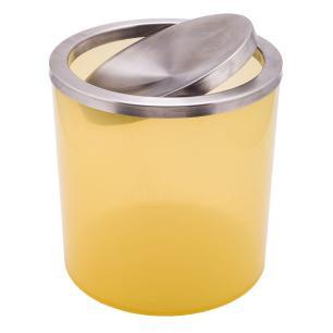Lixeira Basculante Amarela 6,2l