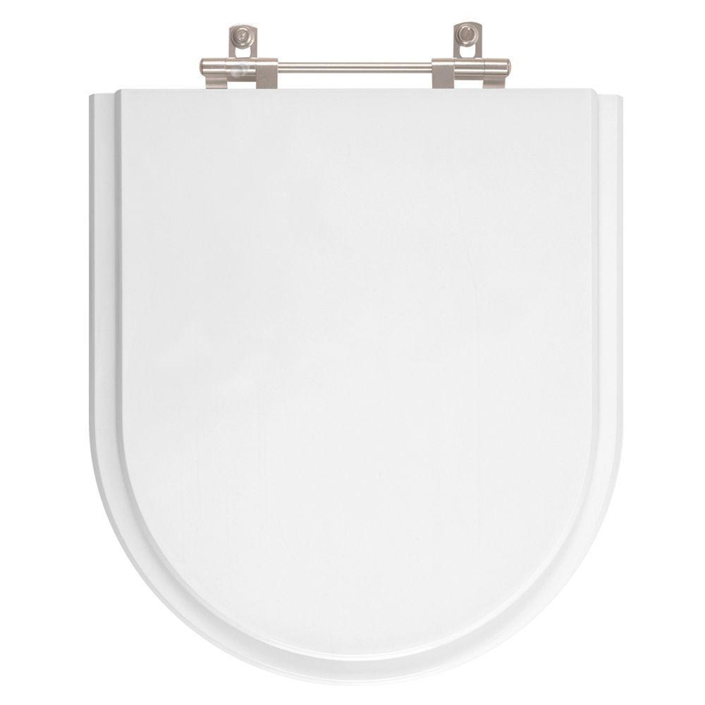Assento Sanitario Poliester Riviera Branco para vaso Celite