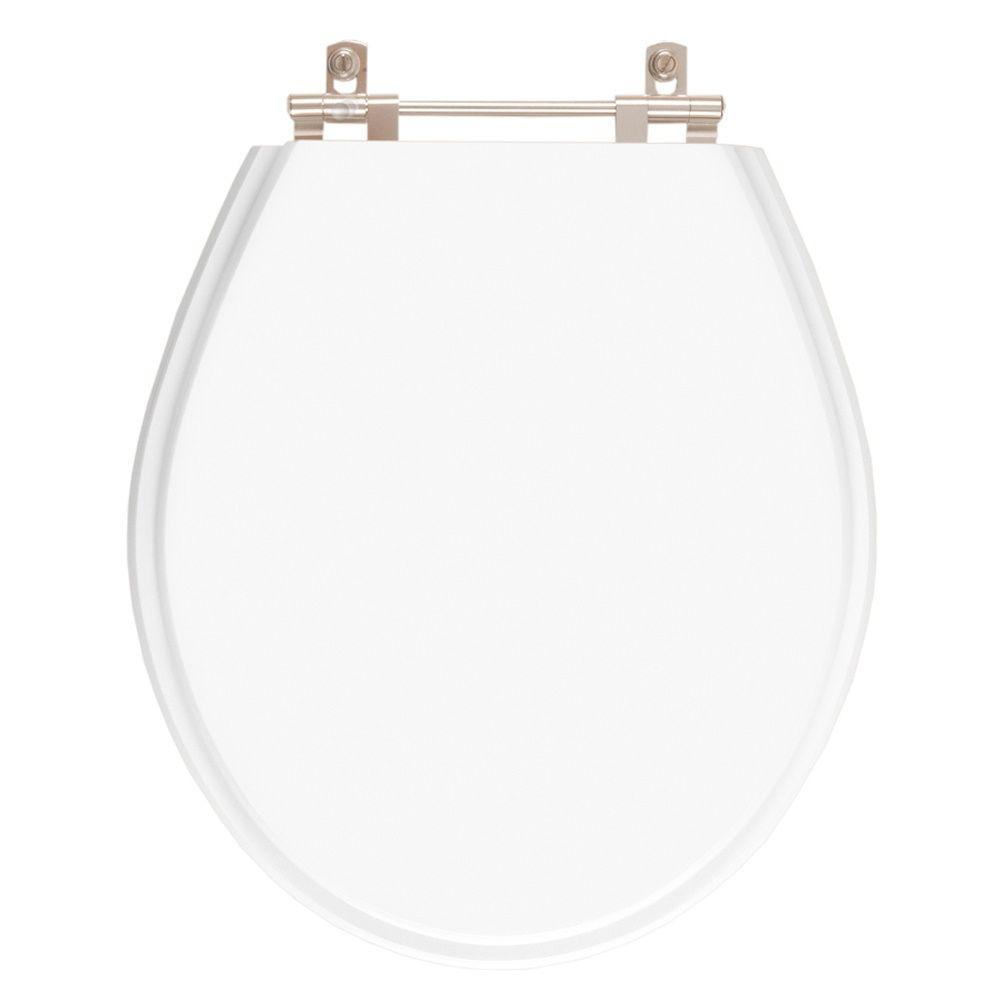 Assento Sanitario Poliester Carina Branco para Vaso Ideal Standard
