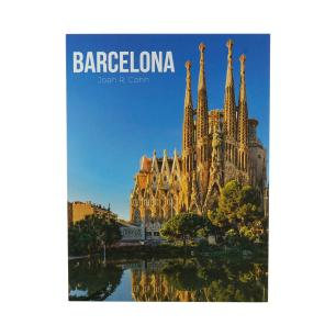 Caixa Livro Papel RÍgido Barcelona 36X27X5Cm