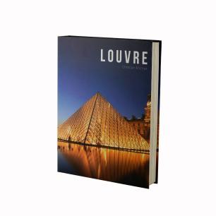 Caixa Livro Papel RÍgido Louvre 36X27X5Cm