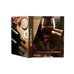 Caixa Livro Papel RÍgido Somelier 36X27X5Cm