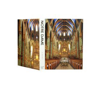 Caixa Livro Papel RÍgido Notre Dame 36X27X5Cm