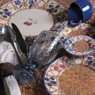 CONJUNTO C/ 6 XÍCARAS DE CHÁ C/ 6 PIRES MÔNACO SUNDAY 161 ml