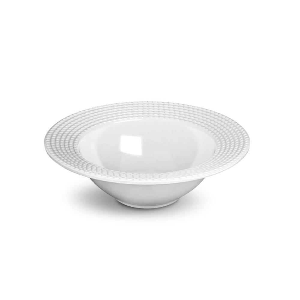 Tigela Olímpia MÉDIA Branco 26,5 cm 1070 ml