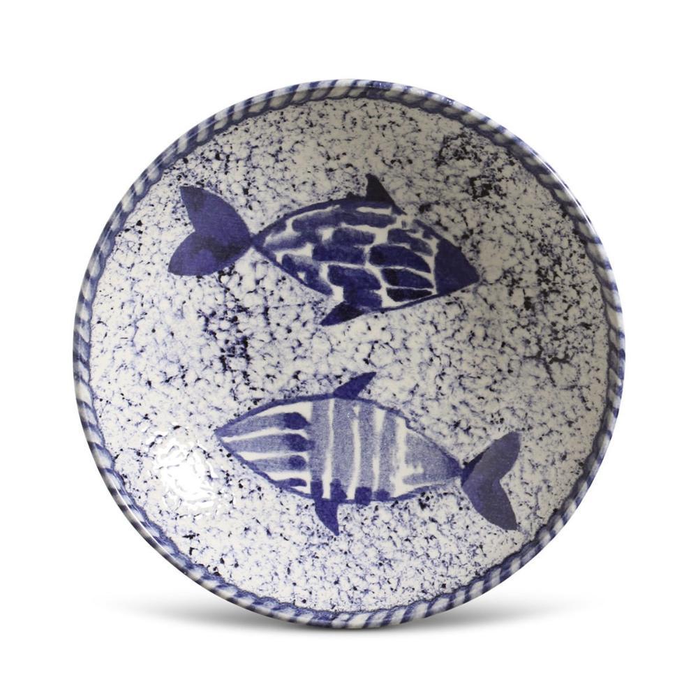 Conjunto com 6 Pratos Fundo Coup Fish 21cm