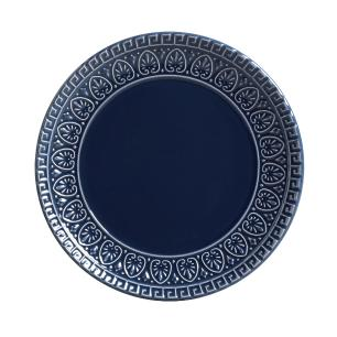 CONJUNTO C/ 6 PRATOS DE SOBREMESA GREEK DEEP BLUE Ø 20cm