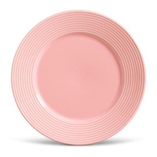 Conjunto com 6 Pratos Raso Argos Rosa 26cm
