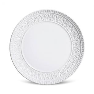 Conjunto com 6 Pratos de Sobremesa Greek Branco 20 cm