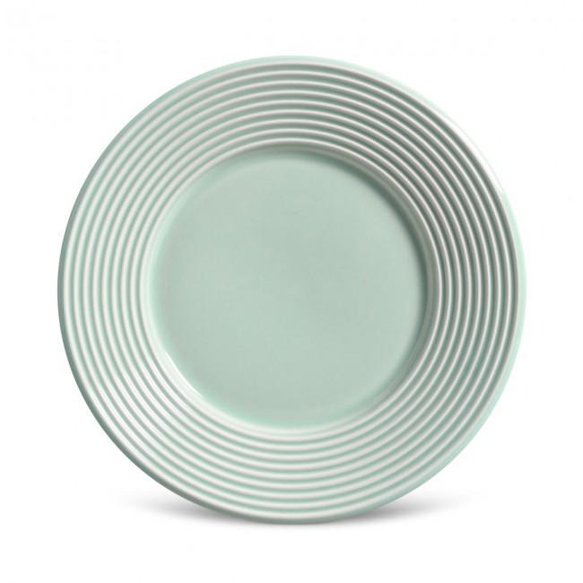 Conjunto com 6 Pratos de Sobremesa Argos Verde 20,5 cm