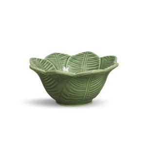 CONJUNTO C/ 6 BOWL LEAVES VERDE SÁLVIA 372 ml