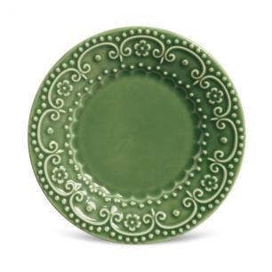 Conjunto com 6 Pratos de Sobremesa Esparta Verde Sálvia 20,5 cm