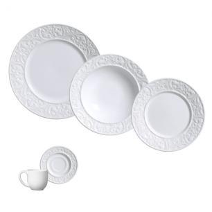 Aparelho de Jantar 20 Peças Porto Branco