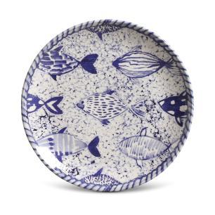 CONJUNTO C/ 6 PRATOS DE SOBREMESA COUP FISH Ø 20,5 cm