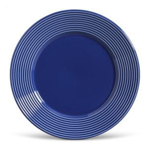 Conjunto com 6 Pratos Raso Argos Azul Navy 26cm