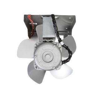 Exaustor para Churrasqueira ITC 200mm Com Iluminação