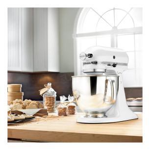 Batedeira Kitchenaid Stand Mixer White 110V