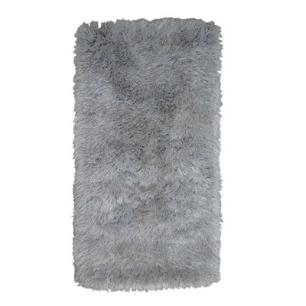 Tapete Chines Long Shaggy 2.00X2.50 Cinza