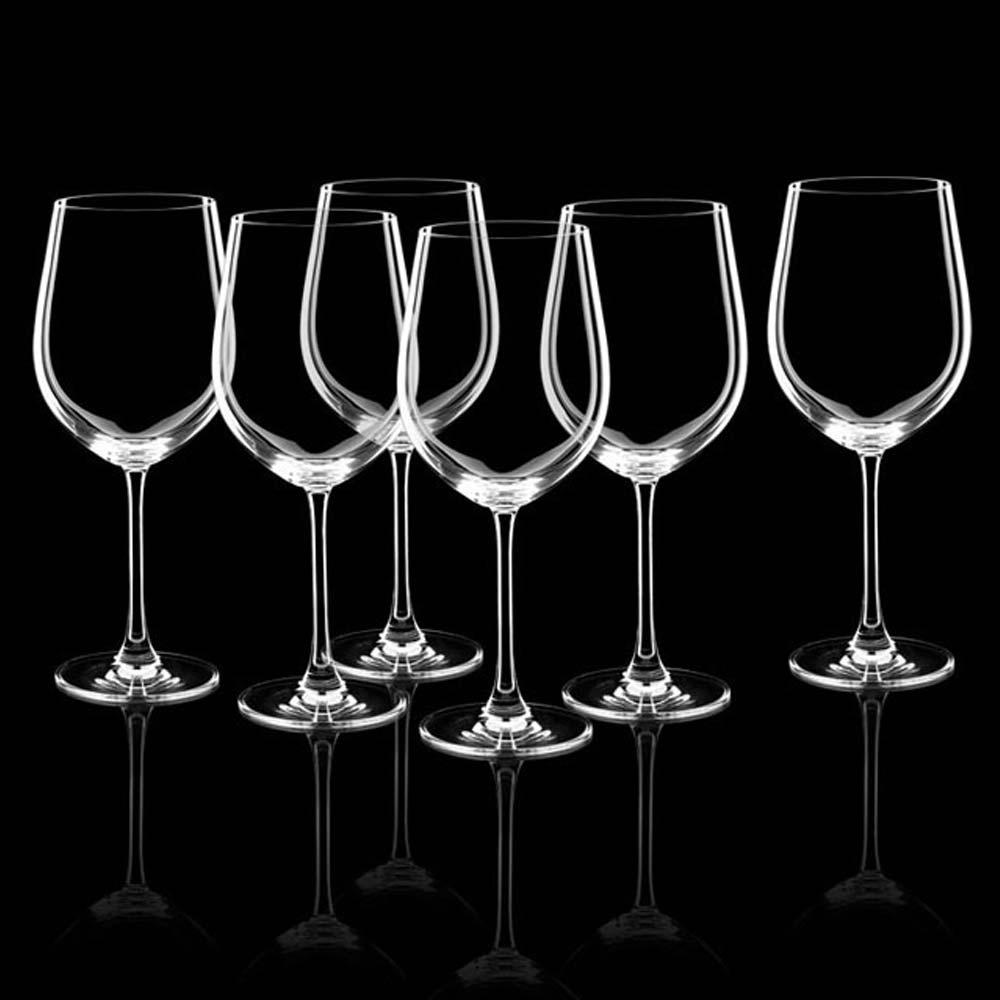 Taça Para Vinho 610 Ml 6 Peças Rona