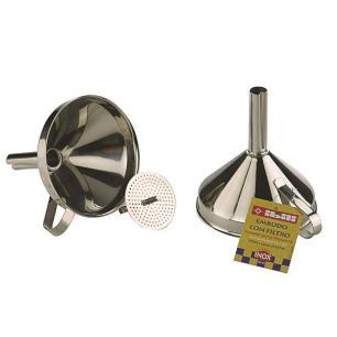 Funil Com Filtro Em Inox Ibili - 763800