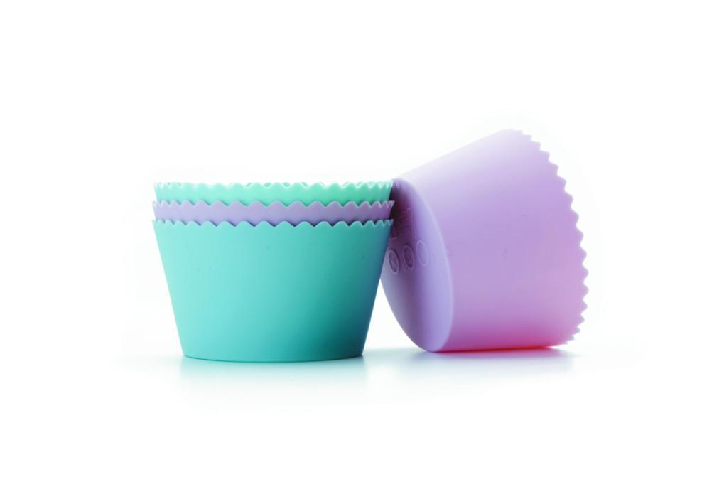 Conjunto 4 Formas De Cupcake Silicone Ibili - 871406