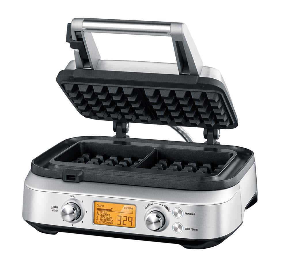 Maquina Waffle Smart 220V Aço Inox Tramontina By Breville - 69058/012