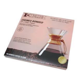 Filtro De Papel Para Café Meia Lua Chemex - Ch-Fp2