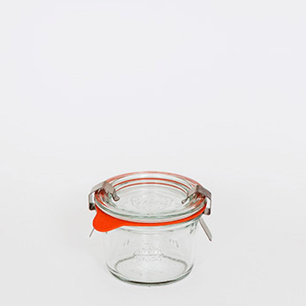 Pote De Vidro Mini Mold 80Ml Weck Jars
