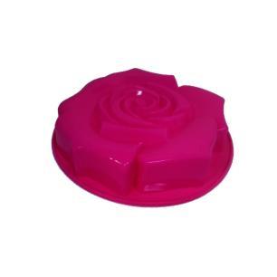 Forma De Bolo Rosa Silicone Rosa Basic Kitchen