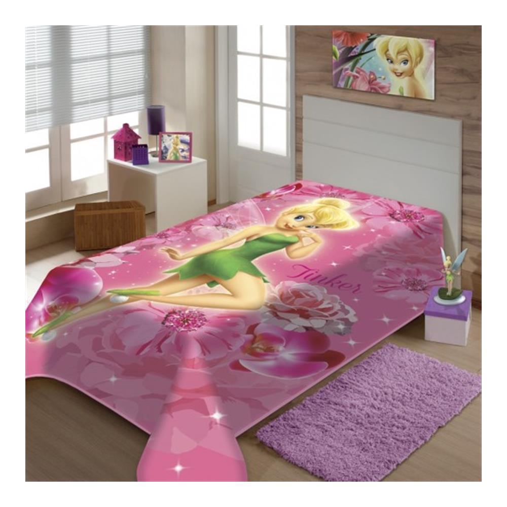 Cobertor Raschel Juvenil Sininho 1,50 X 2,00M Jolitex