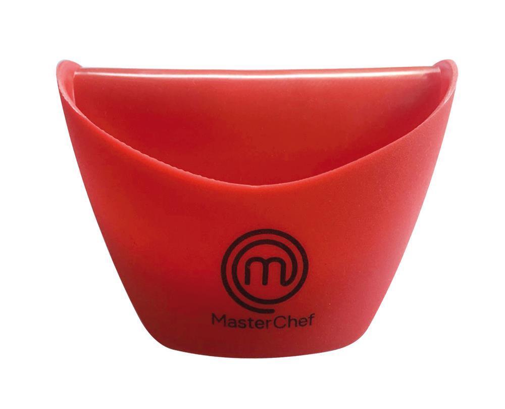 Luva de Cozinha Jacare Silicone Vermelha  Masterchef Gedex