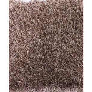 Tapete Chines Silk Shaggy (E3) 0.50X1.00 Bege Mix