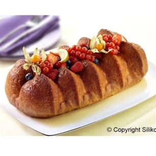 Forma De Silicone Plum Cake Flower Silikomart - 20.730.64.0063