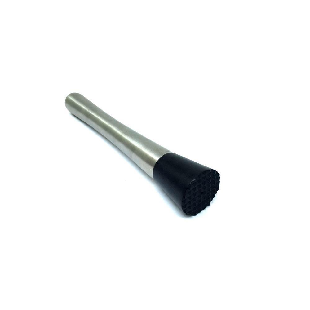 Socador De Caipirinha Em Aço Inox Escovado - Ha072