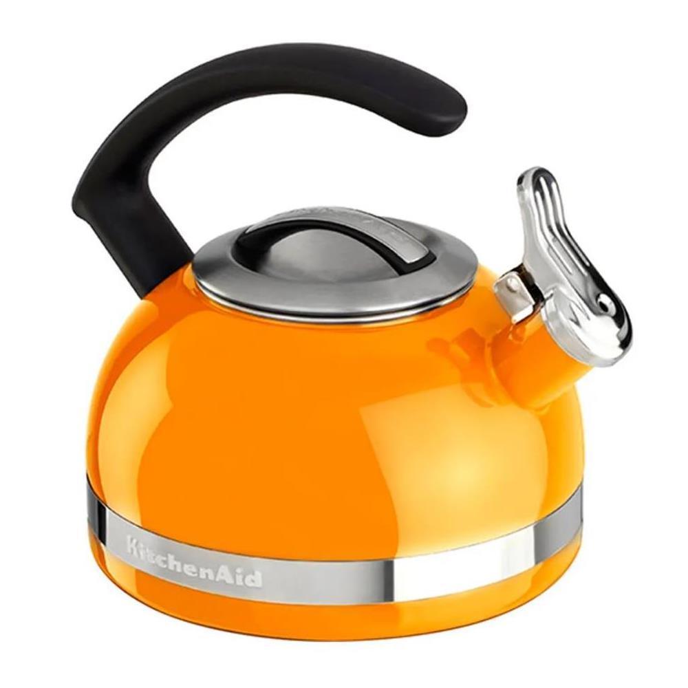 Chaleira Com Apito 1,9 Litros Mandarin Orange Kitchenaid