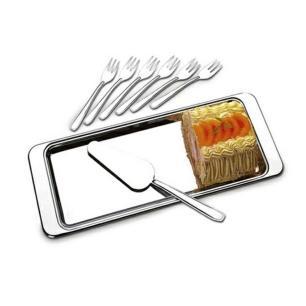 Conjunto Para Torta Fria/Rocambole 8 Peças Átina Brinox