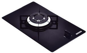 Cooktop Glass Domino 1Gg Tri 30 Bivolt - 94702/101