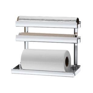 Suporte Para Papel Toalha Alumínio Pvc Brinox