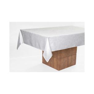 Toalha De Mesa Retangular Sienna Branca 1,60 X 2,70 M Karsten