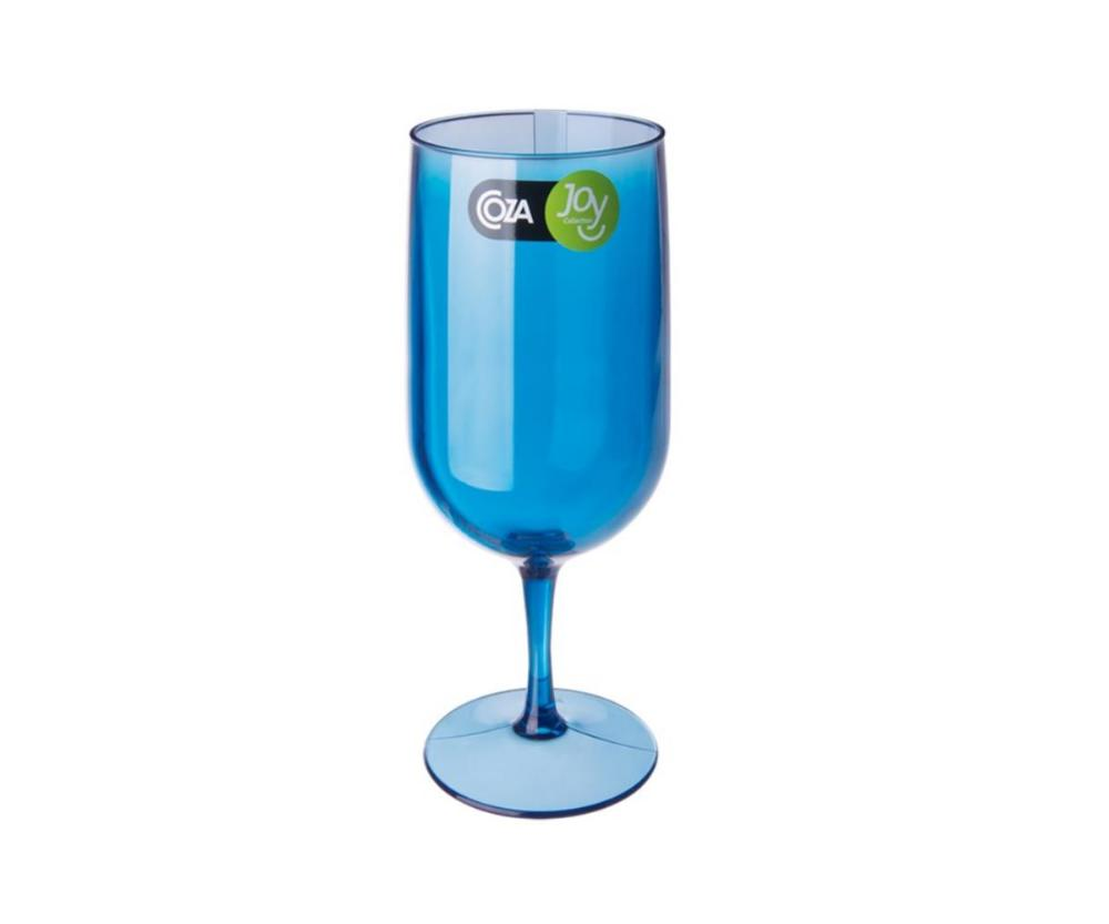 Taça Cerveja Fun 6,1 X 6,1 X 18,5 Cm 300 Ml Azul Coza