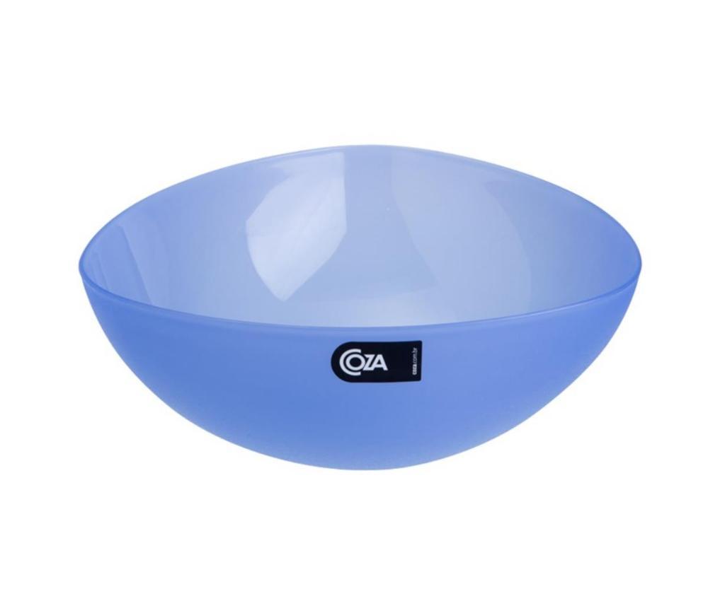 Saladeira Tri 2,5 L 25 X 25 X 9,2 Cm Azul Coza