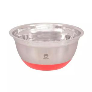 Tigela Funda 16cm Inox Com Base em Silicone Masterchef Gedex